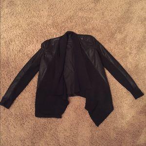 BlankNYC black leather jacket